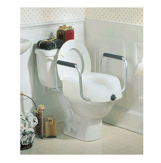 Toilet Seat - Raised Rails