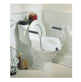 Toilet Seat - Raised Rails