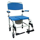 Drive Medical Bariatric Aluminum Rehab Shower Commode Chair
