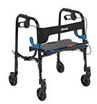 Drive Medical Clever-Lite Walker, Junior, with 5inch Casters