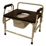 Roscoe Medical Bariatric Drop Arm Commode