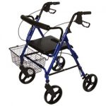 Roscoe Medical Roscoe Rollator 8 inch Removable Wheels